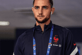 Adrien Rabiot testing positive for COVID-19